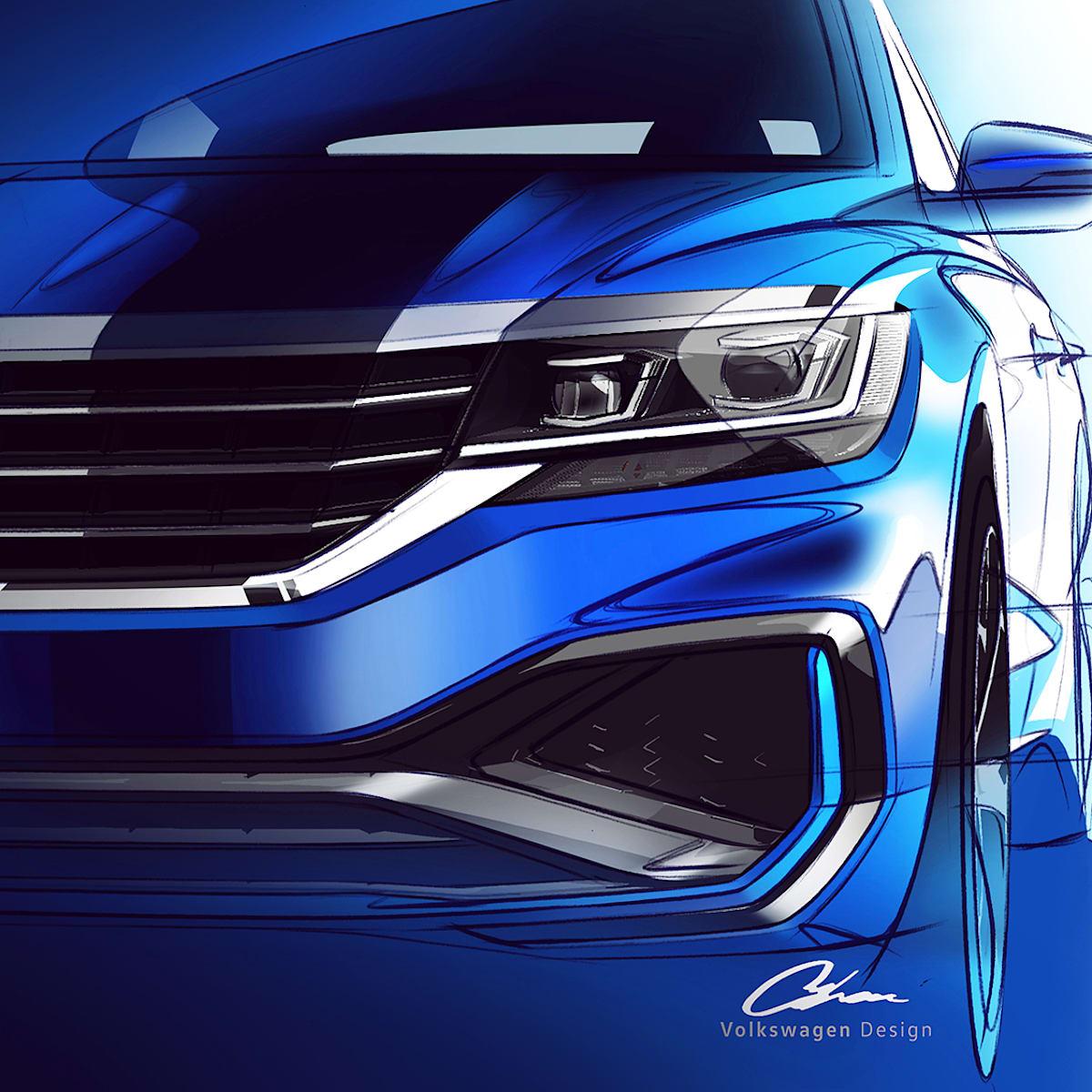 Passat Alltrack Usa >> 2020 Volkswagen Passat Teased For The Us Caradvice