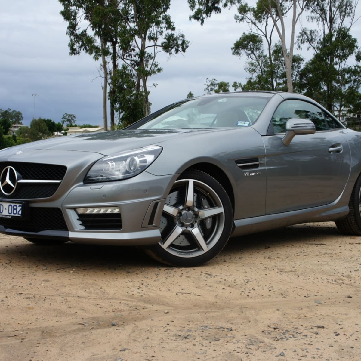 Mercedes Benz Slk55 Amg Review Caradvice