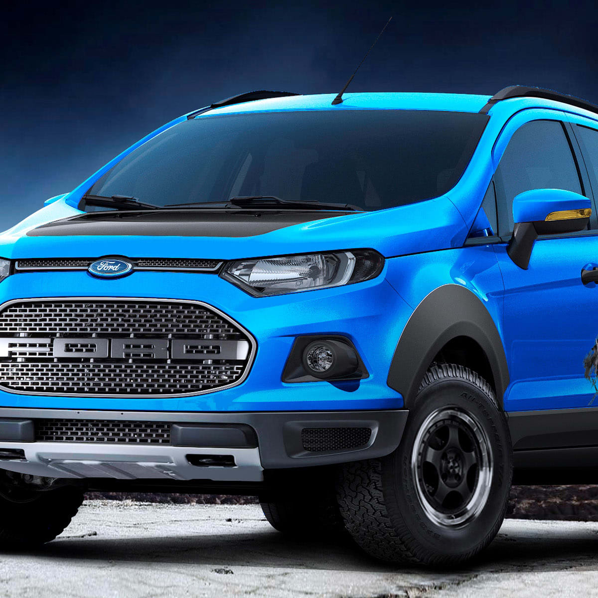 Ford Ecosport Beauty The Beast And Storm Concepts Head To Sao Paulo