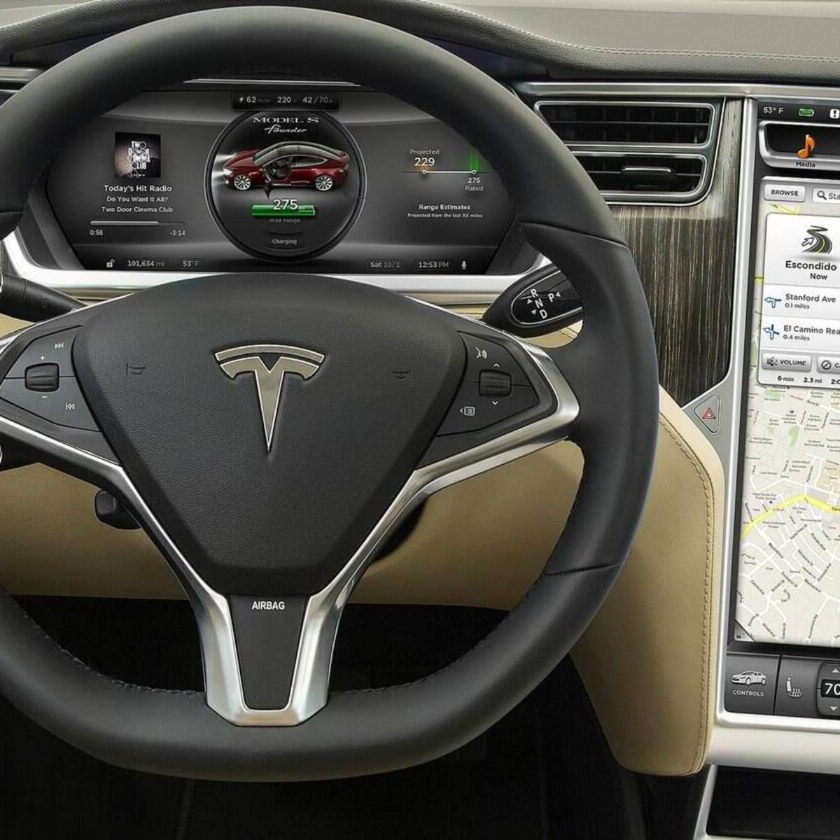 Tesla Model S : Software v6 0 update brings location-based