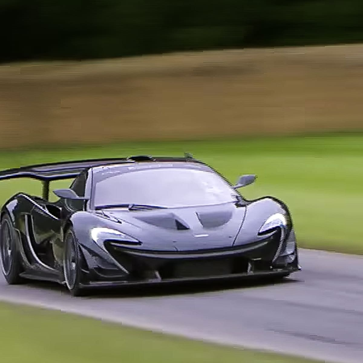 Mclaren P1 Lm Special Sets New Goodwood Festival Of Speed Road Car