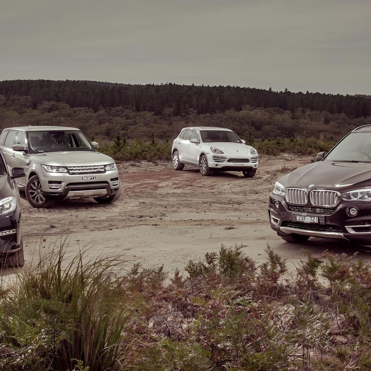 Luxury SUV Comparison : BMW X5 v Mercedes-Benz ML-Class v