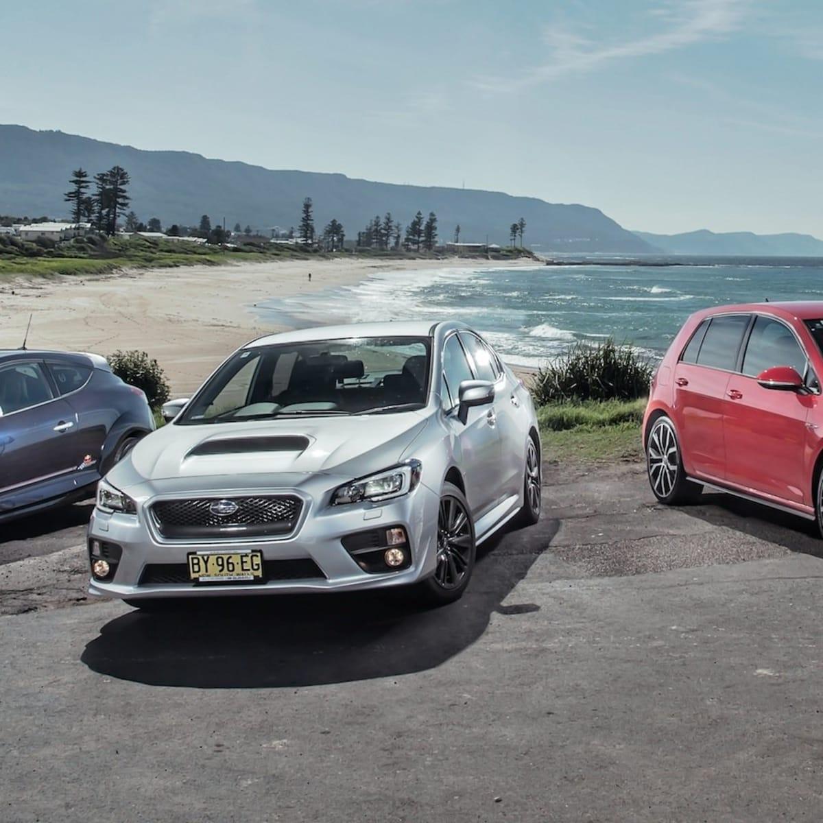 Sports car comparison : Subaru WRX v Volkswagen Golf GTI Performance