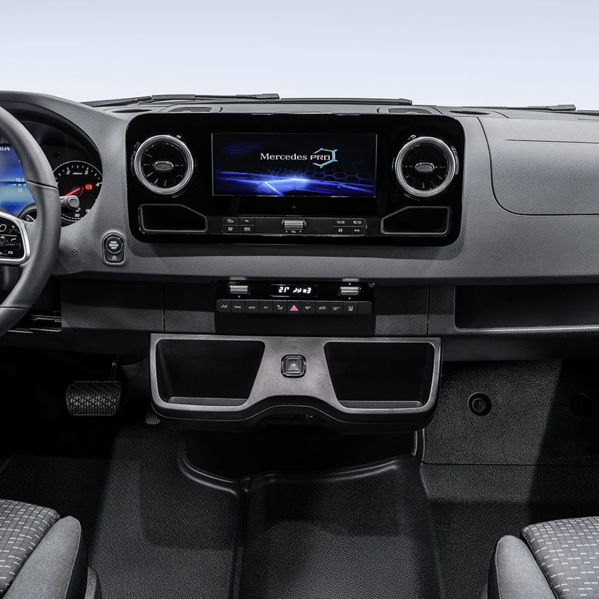 2018 Mercedes-Benz Sprinter interior revealed | CarAdvice