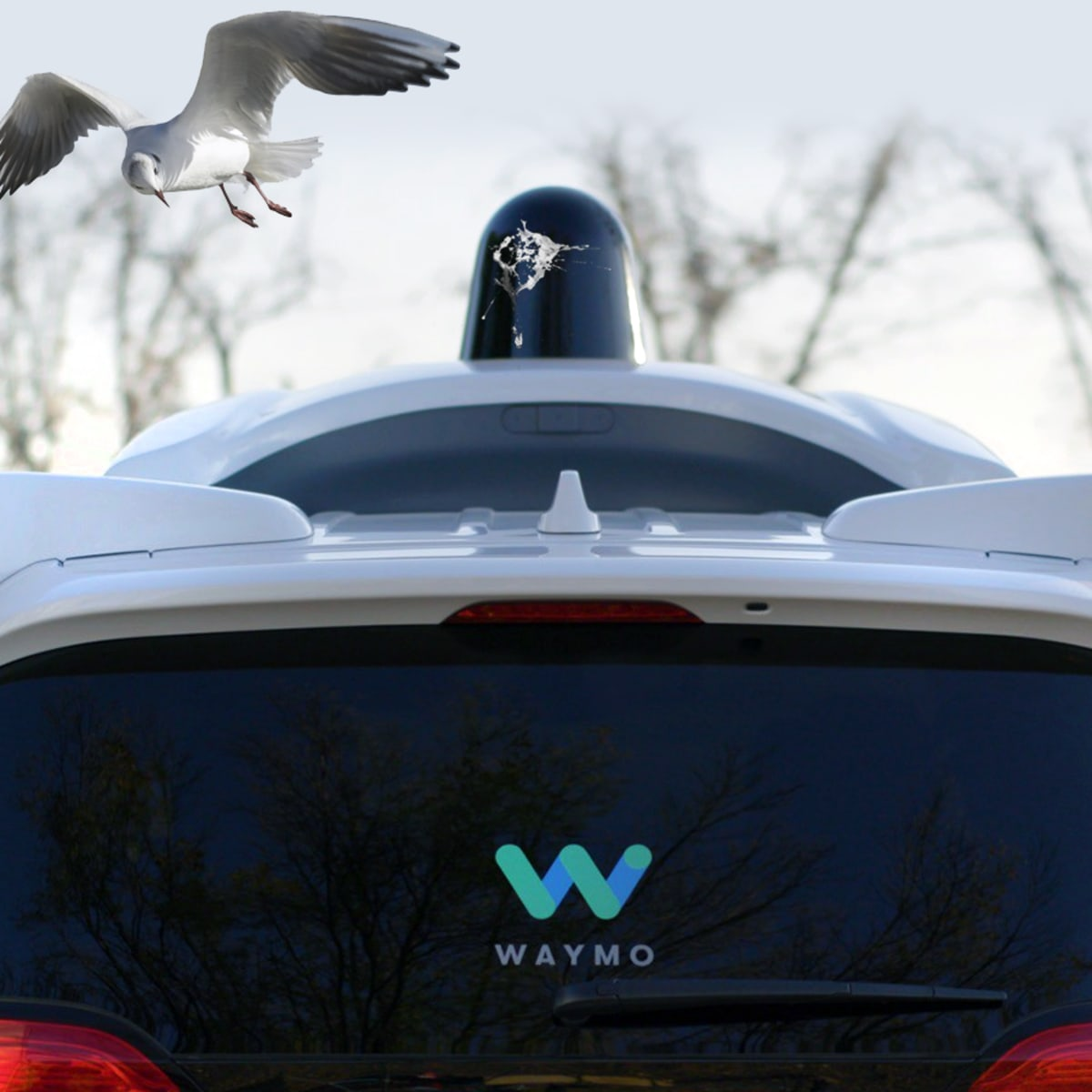 No shit: Google's Waymo uses clever rotating blades to wipe