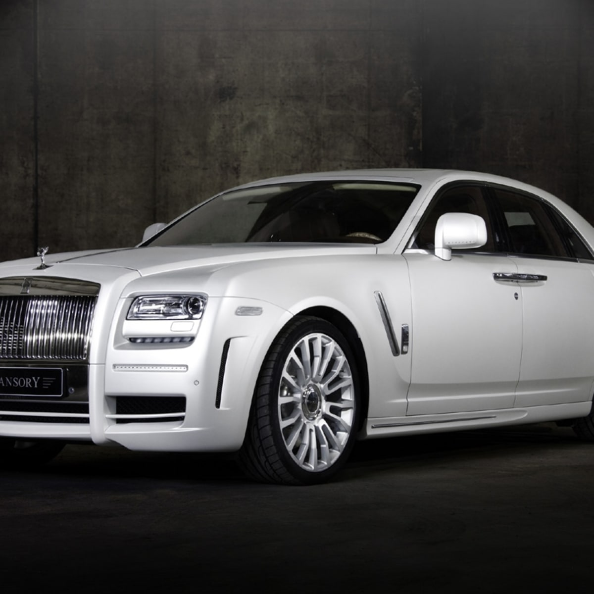 Mansory Rolls Royce White Ghost Limited Caradvice