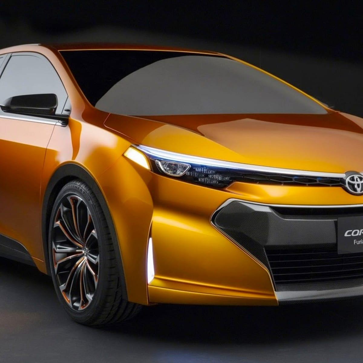 3a13a54511b432 Toyota Corolla Furia concept previews new small sedan | CarAdvice