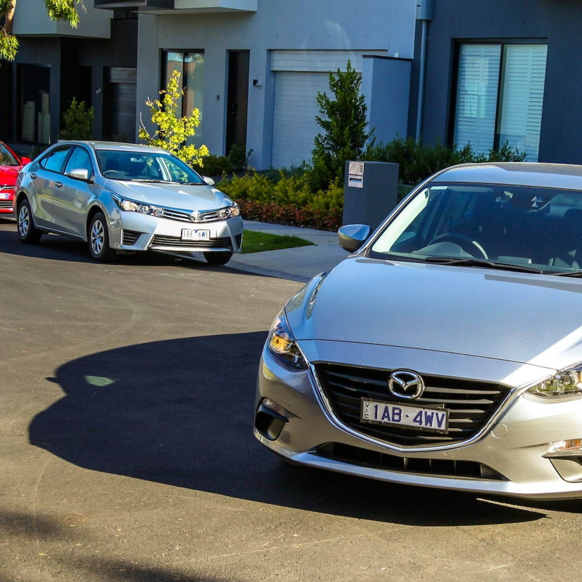 Small Car Comparison : Toyota Corolla v Mazda 3 v Holden