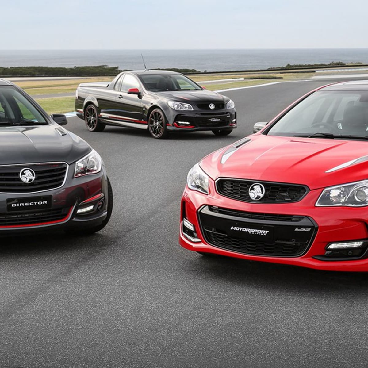 2017 Holden Commodore Motorsport, Magnum and Director review