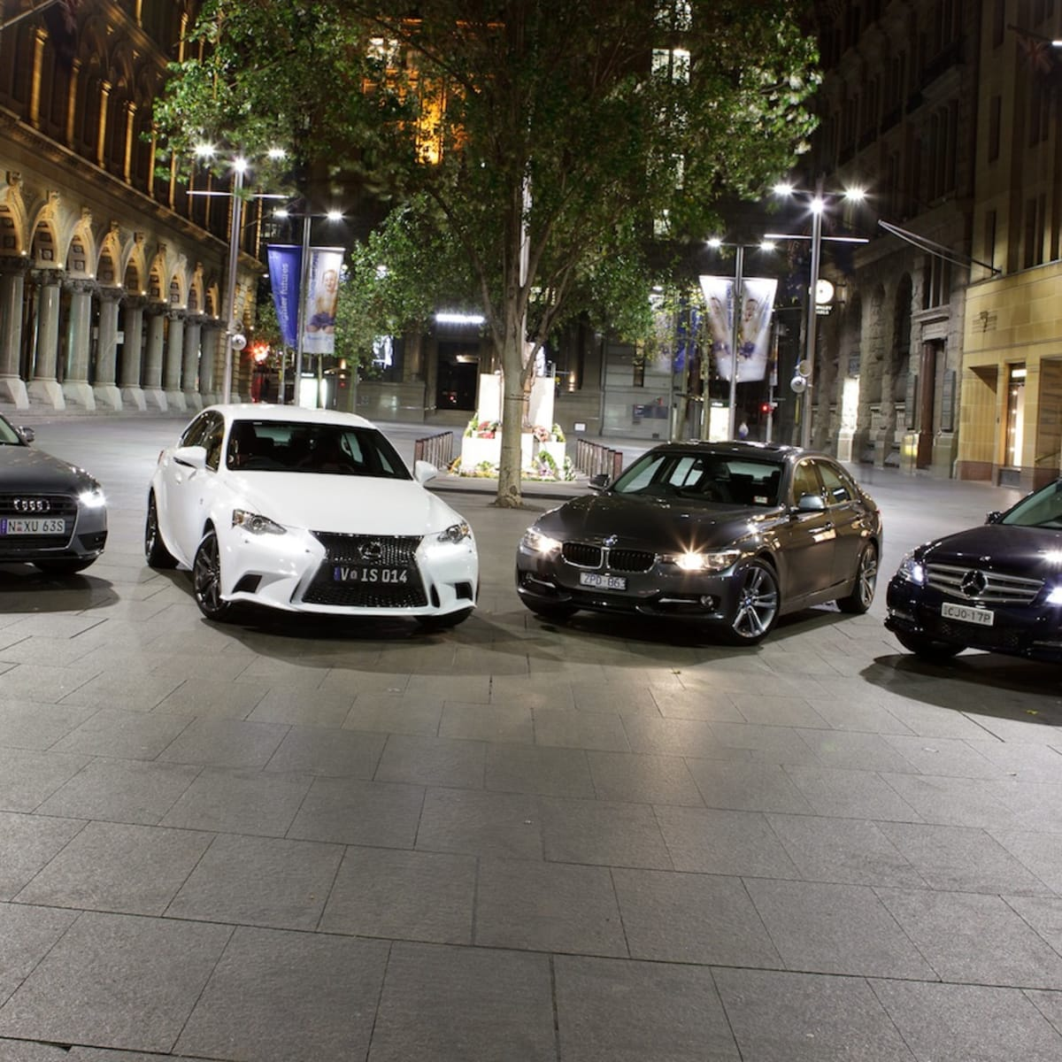 Compact luxury comparison: Lexus IS v BMW 3 Series v Audi A4