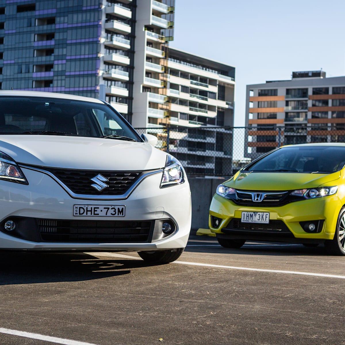 Honda Jazz v Suzuki Baleno comparison | CarAdvice