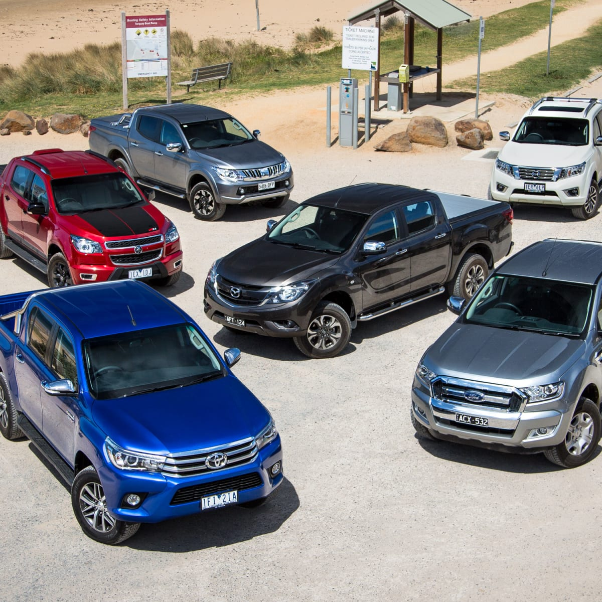 Ute comparison: Ford Ranger v Holden Colorado v Isuzu D-MAX v Mazda