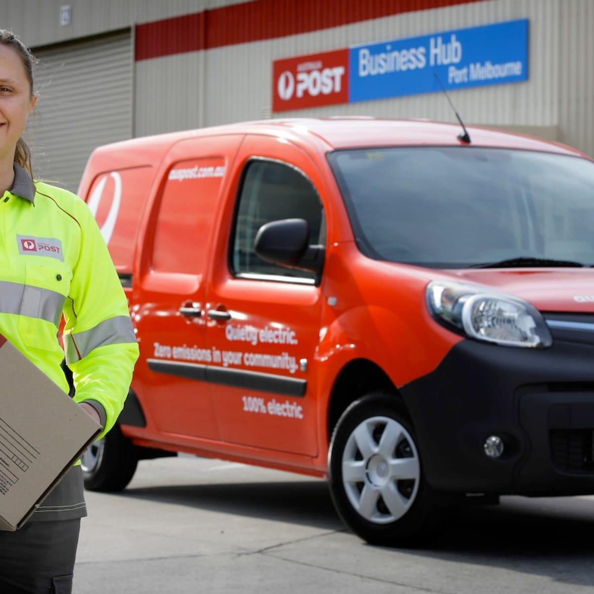 Renault Kangoo Z E  : Electric vans join Australia Post