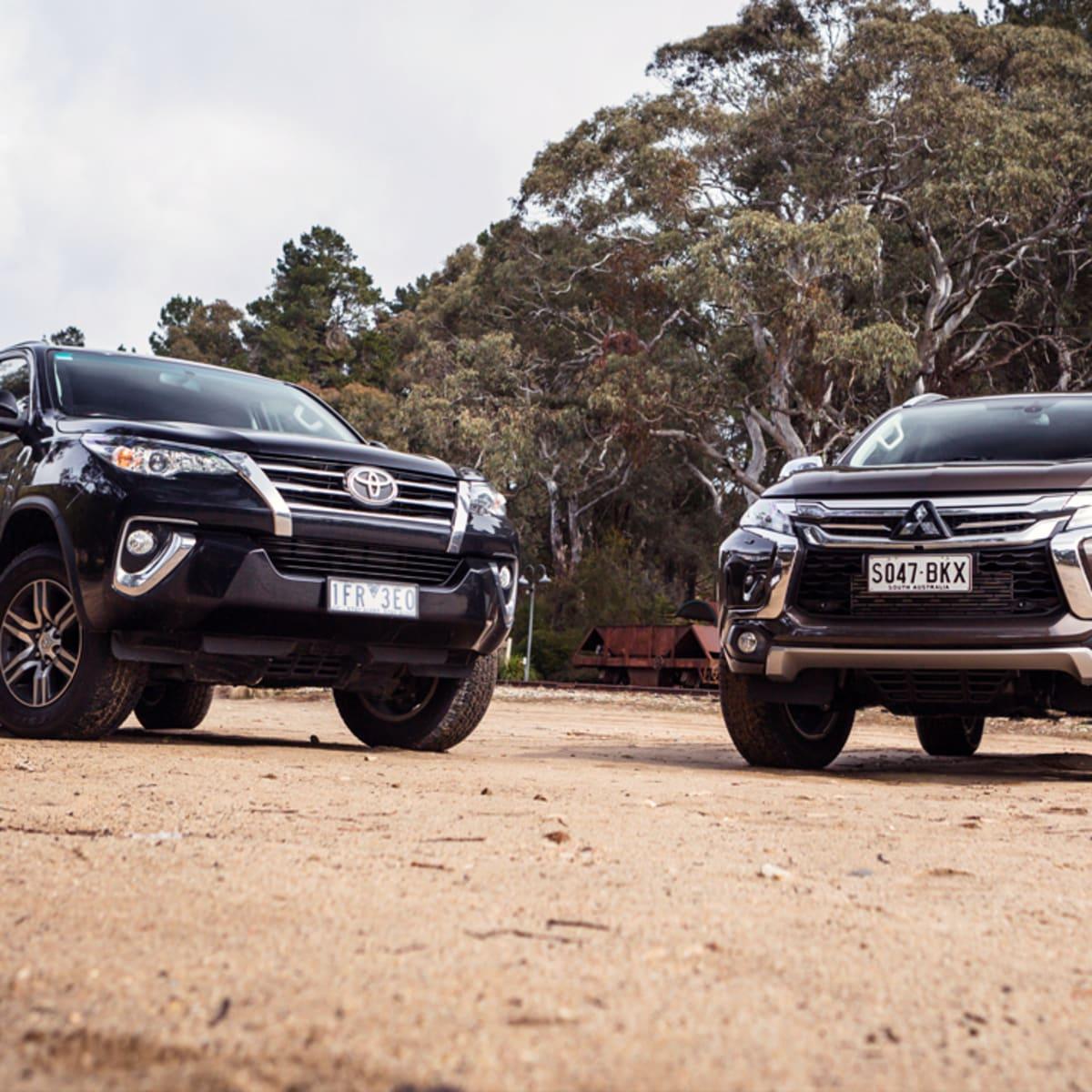 2016 Toyota Fortuner GXL v Mitsubishi Pajero Sport Exceed