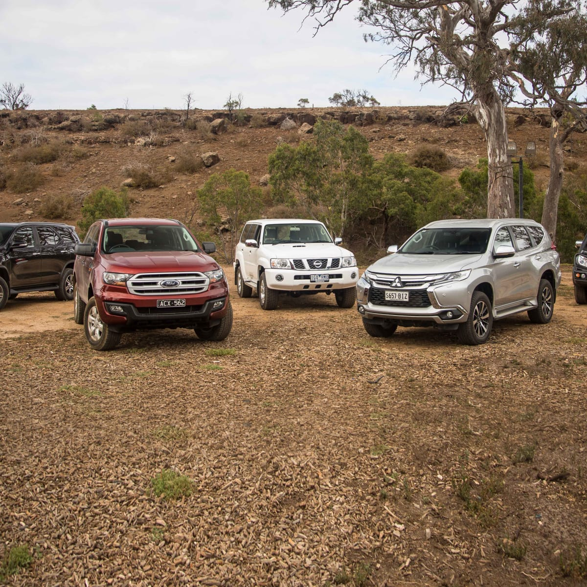 Family 4x4 SUV Comparison: Ford Everest v Isuzu MU-X v
