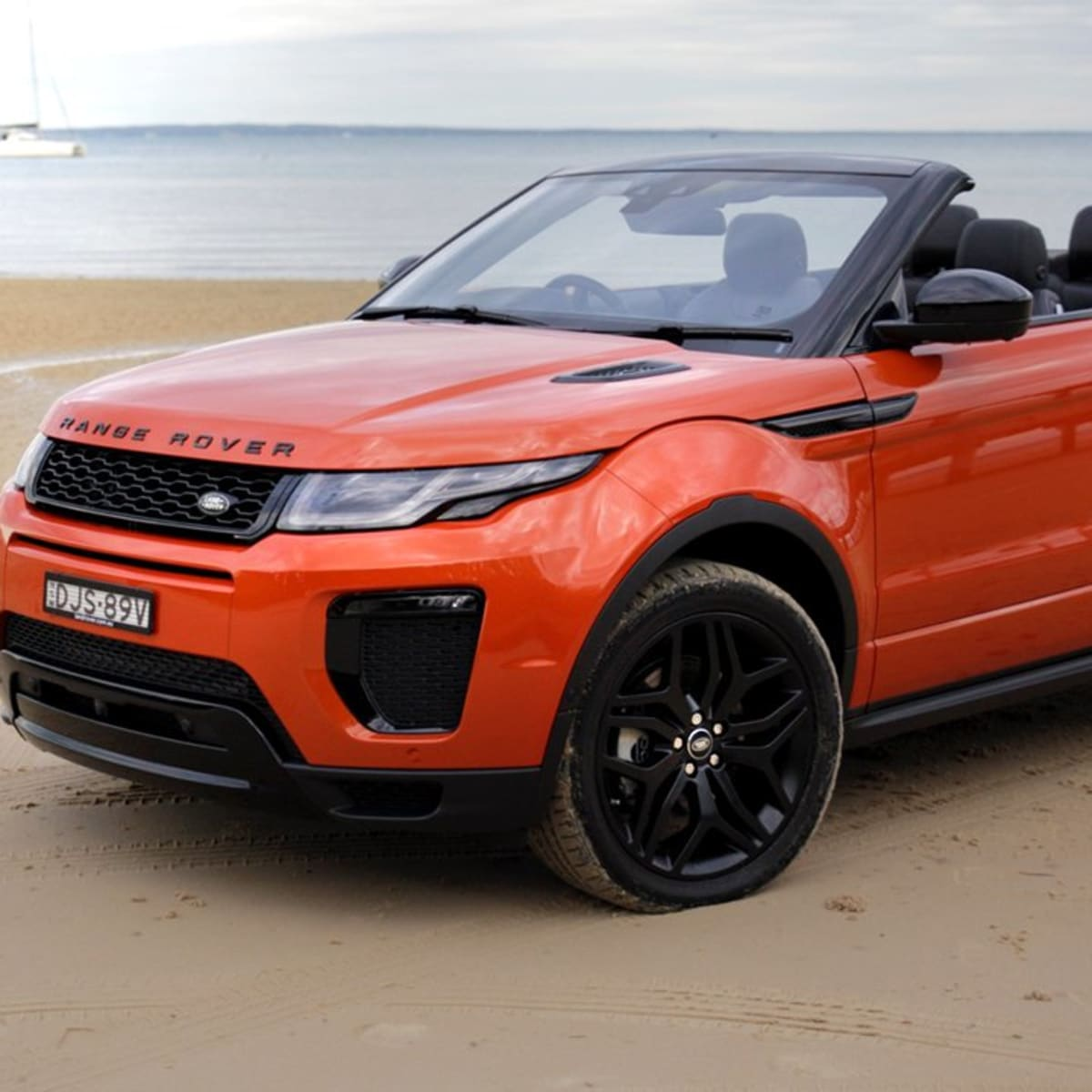 2017 Range Rover Evoque Convertible review | CarAdvice