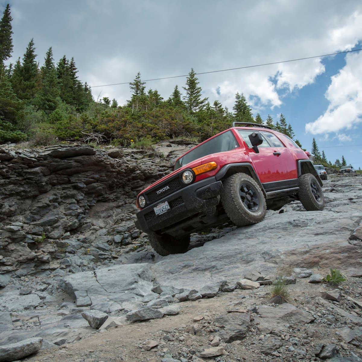 Toyota Fj Cruiser Off Road Review Caradvice