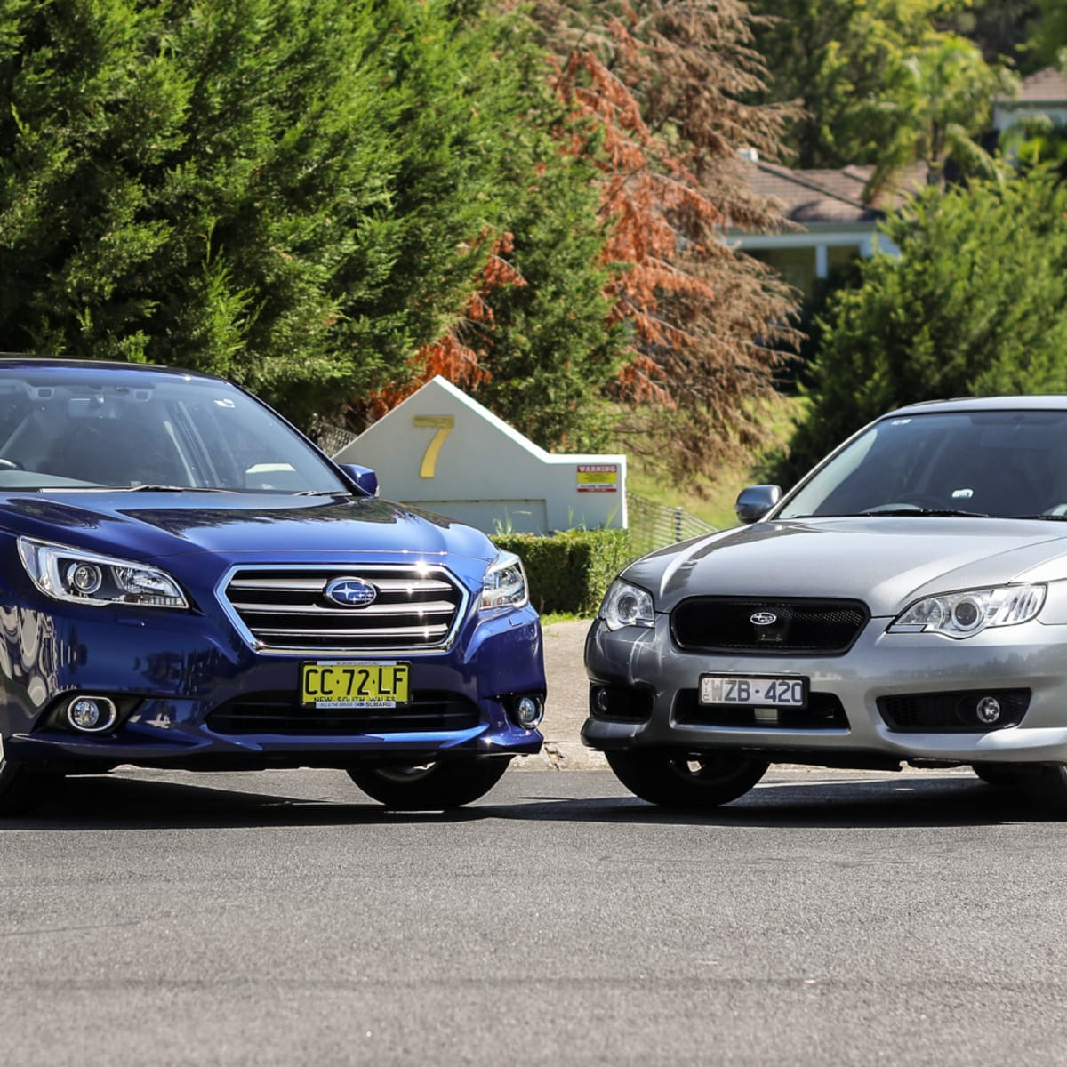 Subaru Liberty Old v New Comparison: Fourth-generation 3 0R