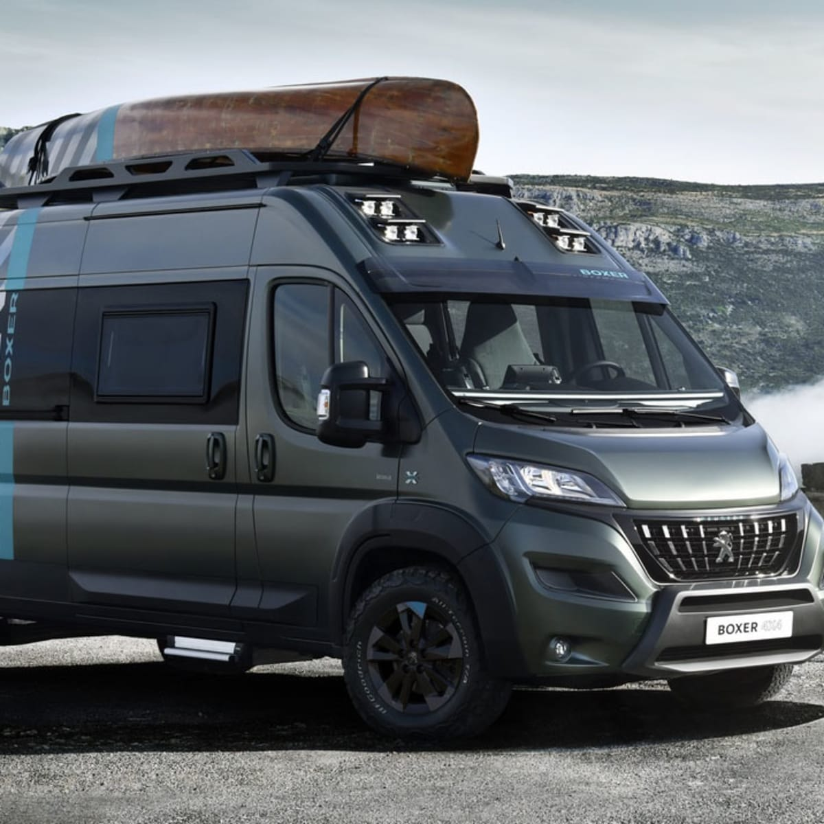 Peugeot Boxer 8x8 Concept revealed  CarAdvice