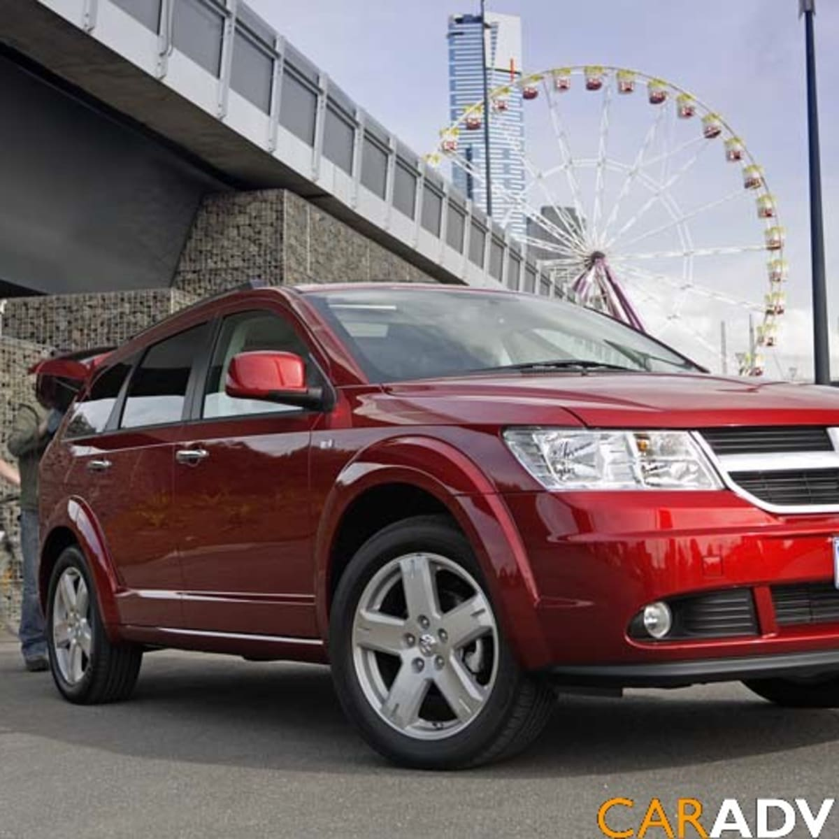 2008 Dodge Journey First Steer | CarAdvice