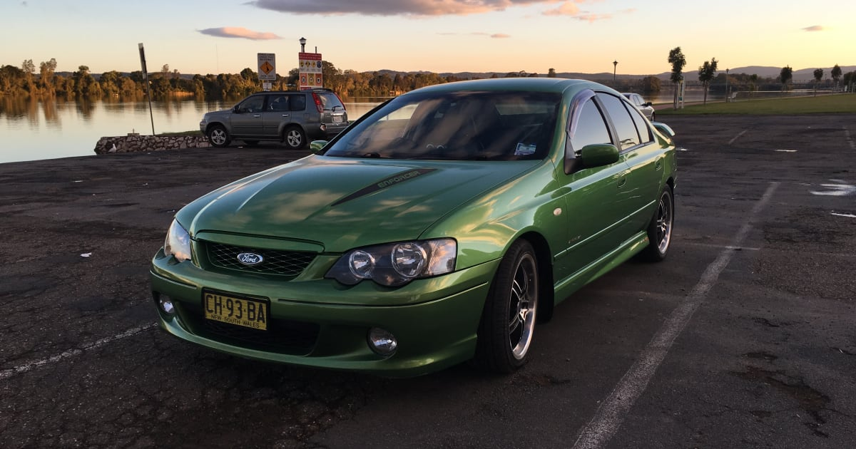 2005 Ford Falcon XR8 Enforcer review | CarAdvice