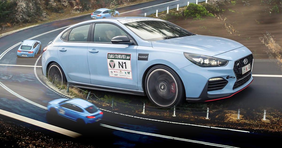Hyundai i30N Fastback: Targa Tasmania test drive | CarAdvice