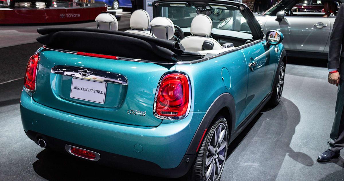 2016 Mini Convertible 2015 La Auto Show