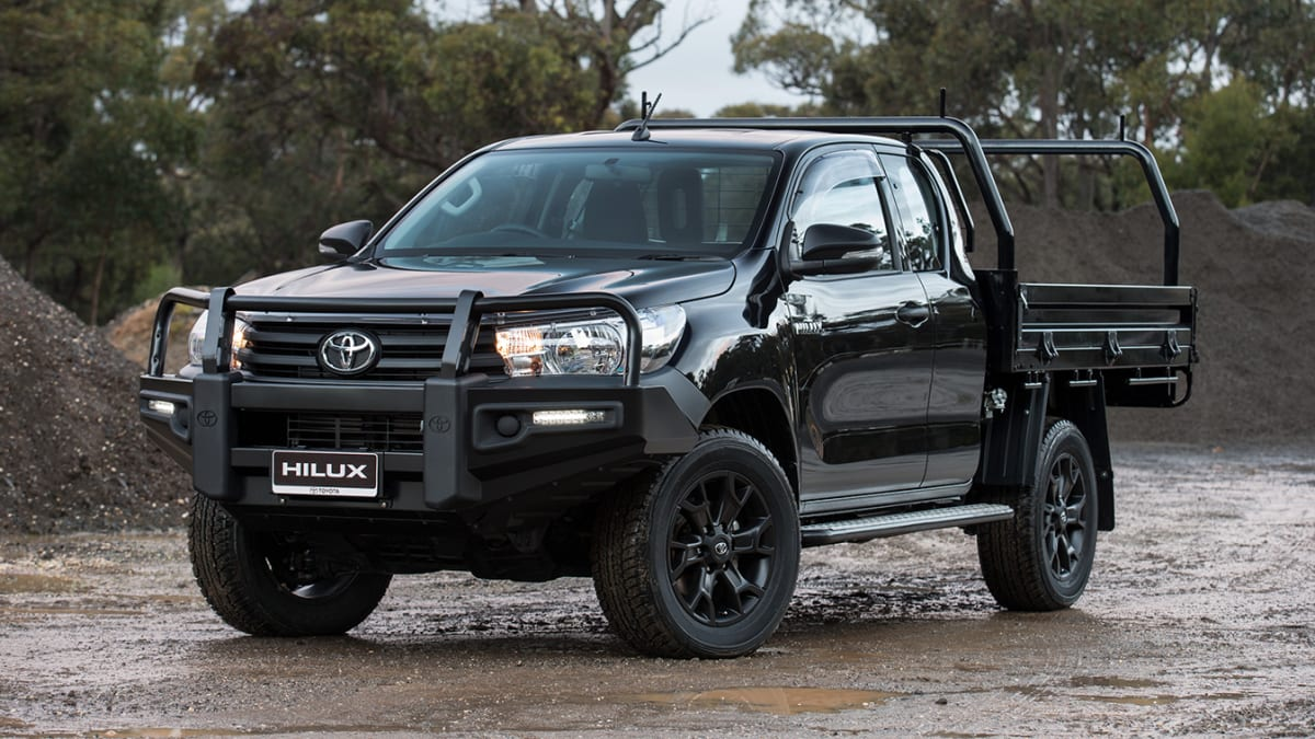 Toyota Hilux Pickup Power Window Control System Electrical Schematic