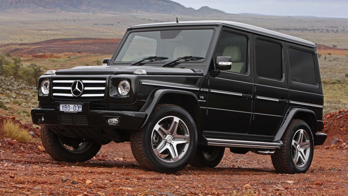 Mercedes-Benz G55 AMG & G350 Review   CarAdvice