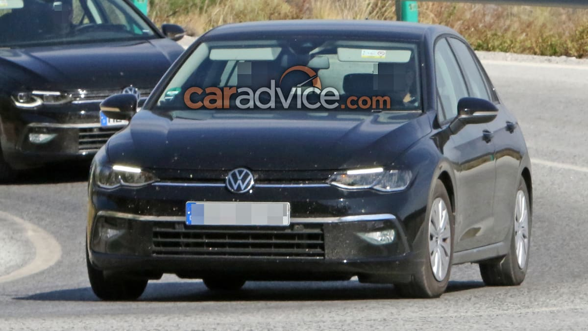 2021 Volkswagen Golf spied virtually disguise free | CarAdvice