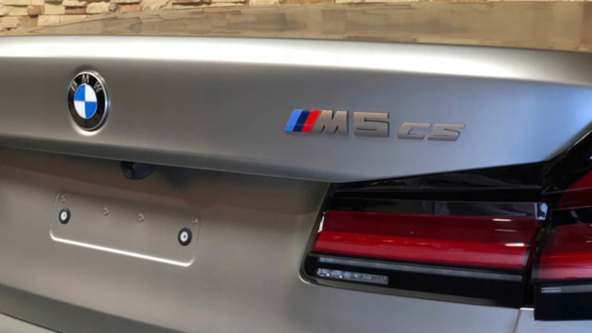 2021 Bmw M5 Cs Appears Again In Pieces Caradvice