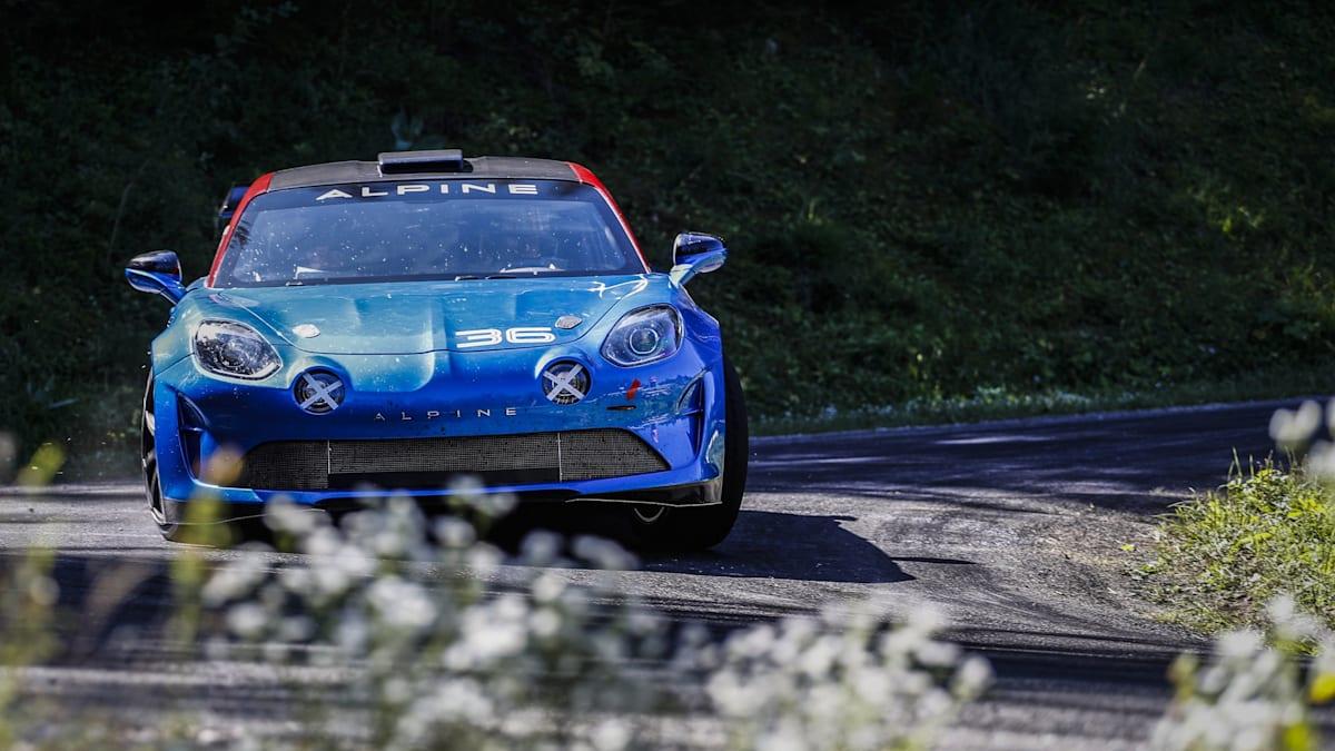 Alpine A110 gets a rally makeover   CarAdvice