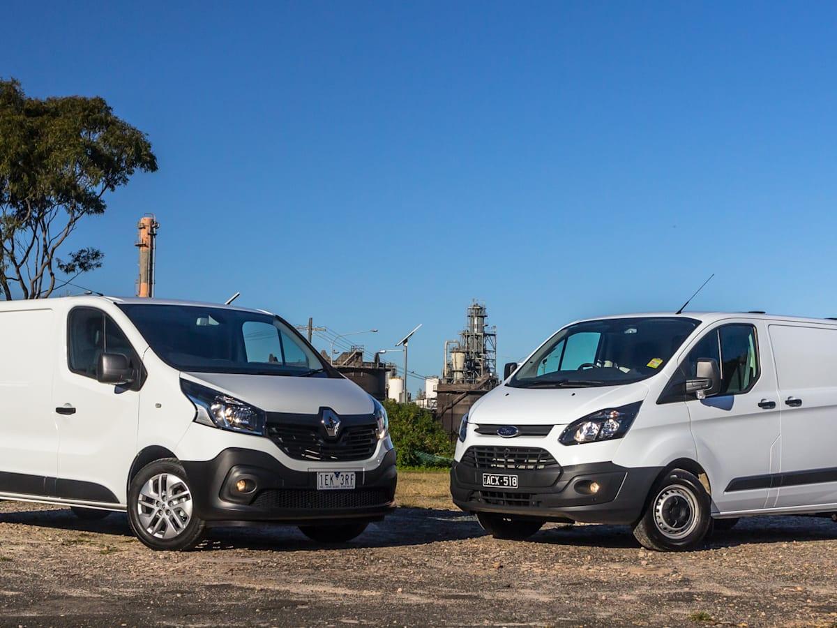 Ford Transit Custom v Renault Trafic: Medium van comparison | CarAdvice