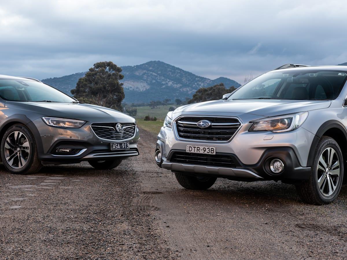 2018 Holden Calais-V Tourer v Subaru Outback 3 6R | CarAdvice