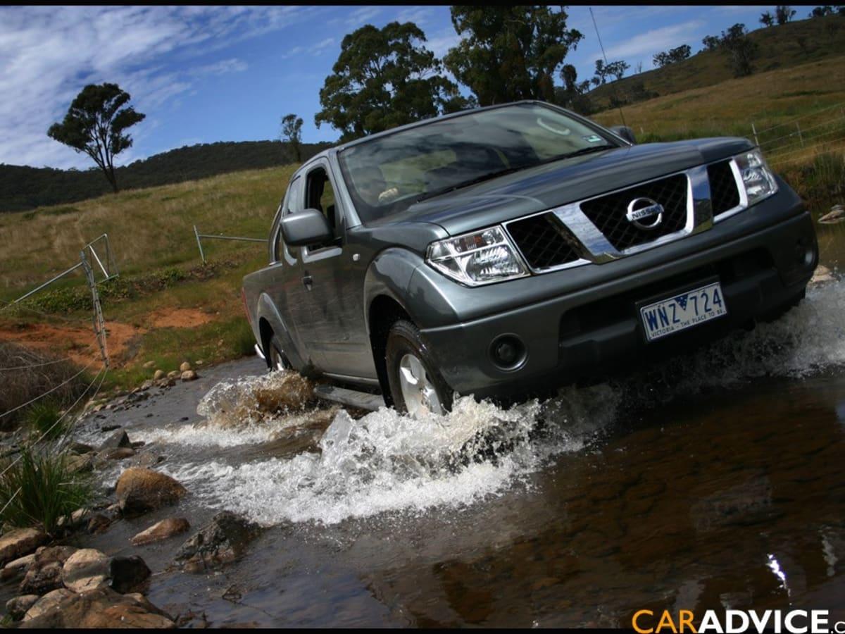 2008 Nissan Navara ST-X 4X4 King Cab Review | CarAdvice