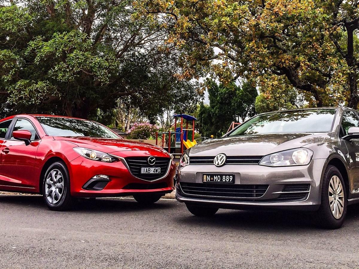 Mazda 3 v Volkswagen Golf : Comparison Review   CarAdvice