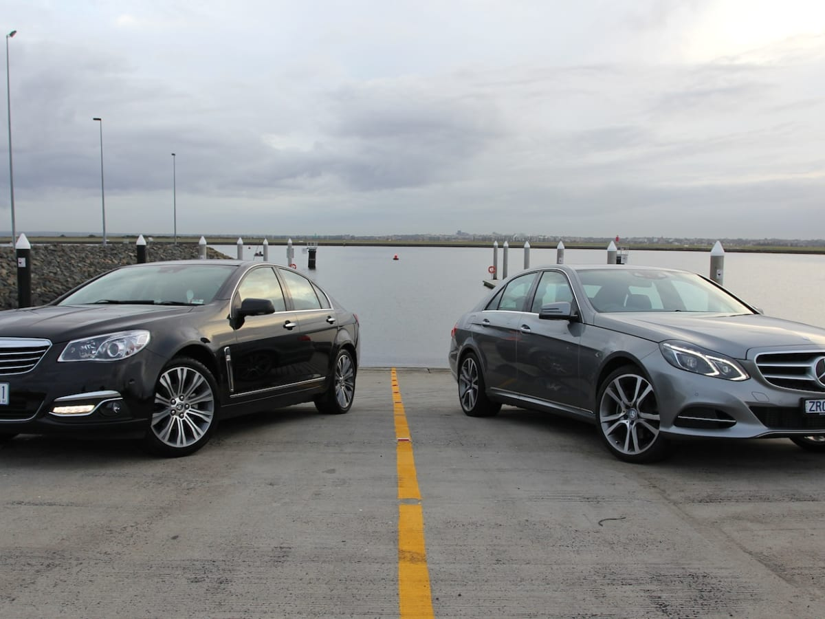 Holden Calais V v Mercedes-Benz E250: Comparison Review | CarAdvice