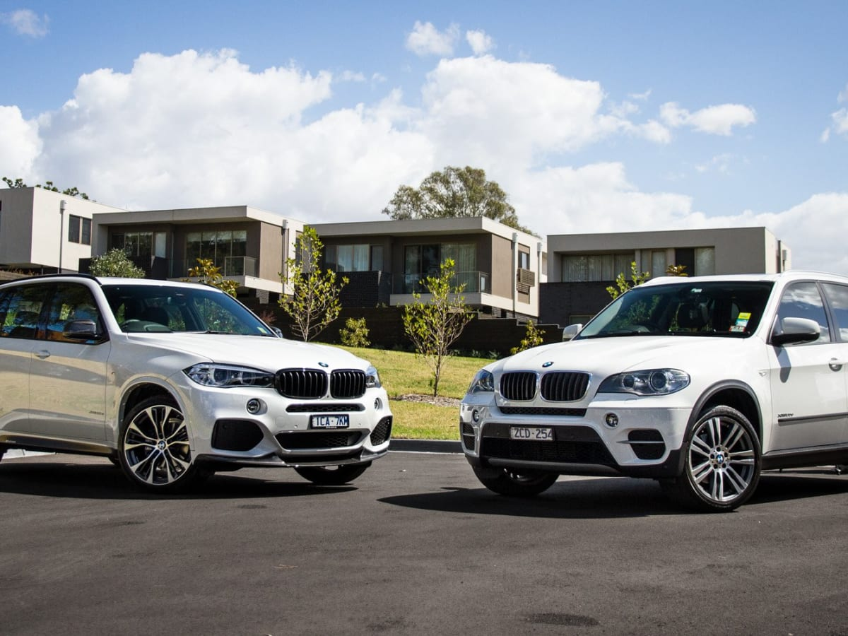 BMW X5 Old v New comparison: Second-generation E70 v third
