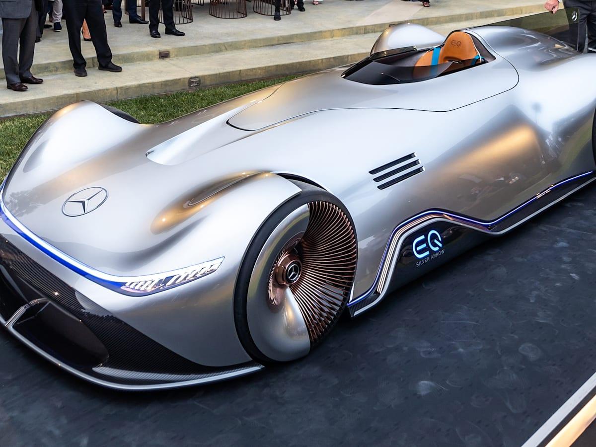 Mercedes Benz Vision Eq Silver Arrow Revealed Caradvice