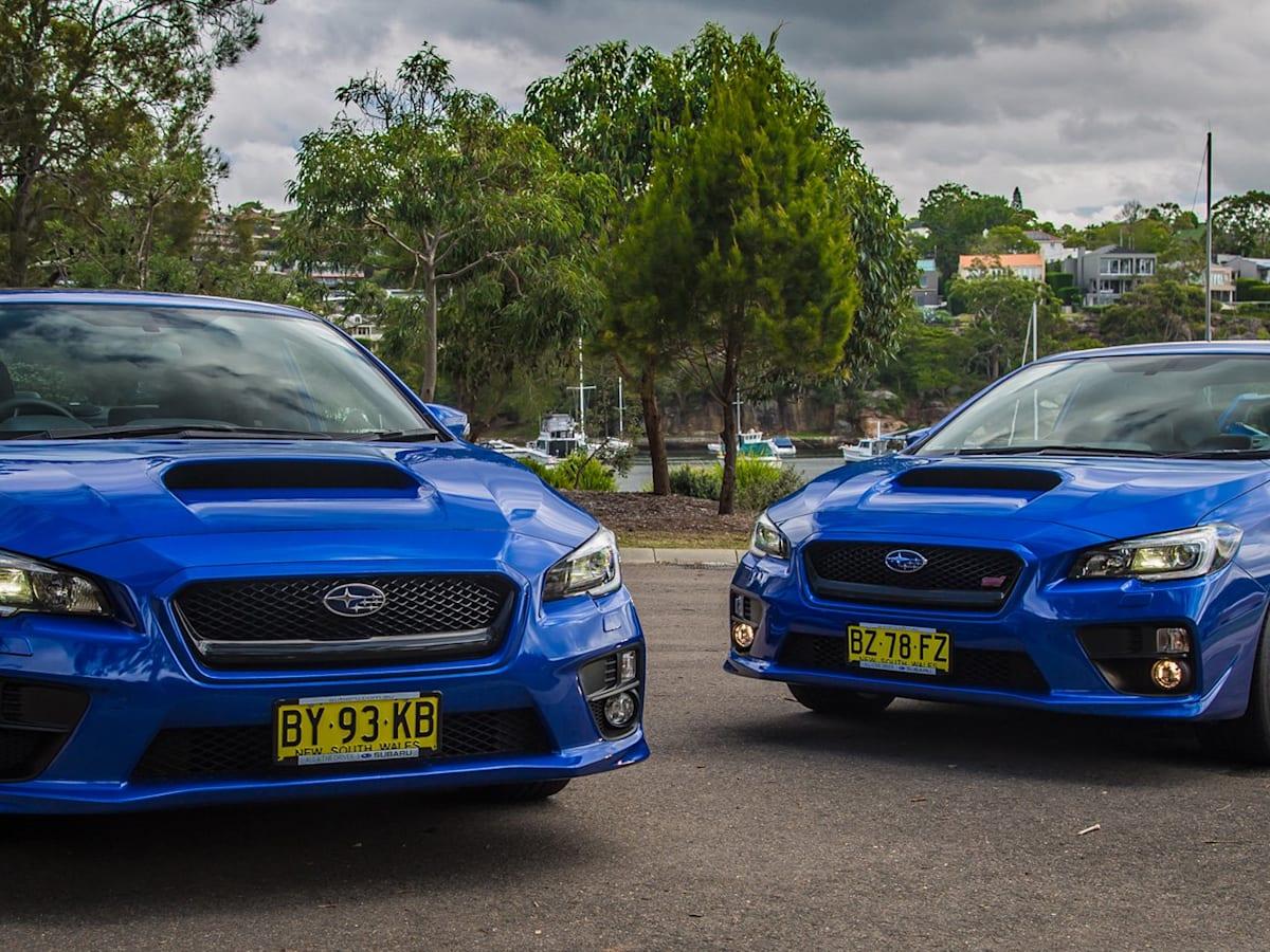 Subaru WRX v Subaru WRX STi : Comparison review   CarAdvice