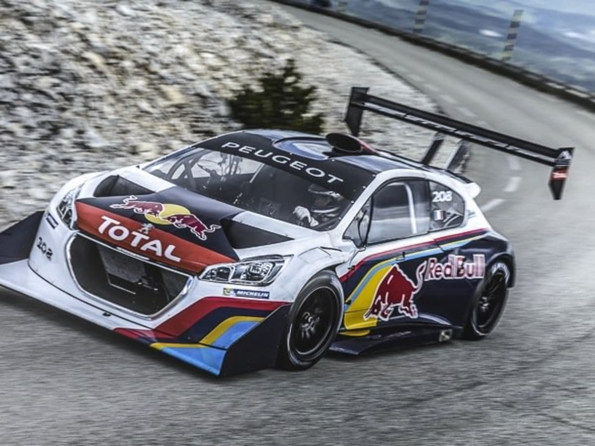 Peugeot 208 t16 pikes peak racing livery revealed