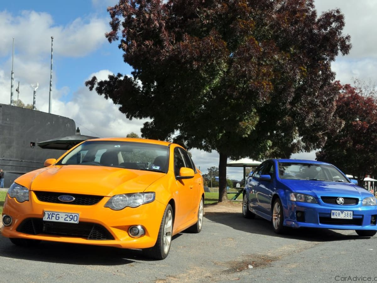 Ford Falcon XR8 vs Holden Commodore SS | CarAdvice