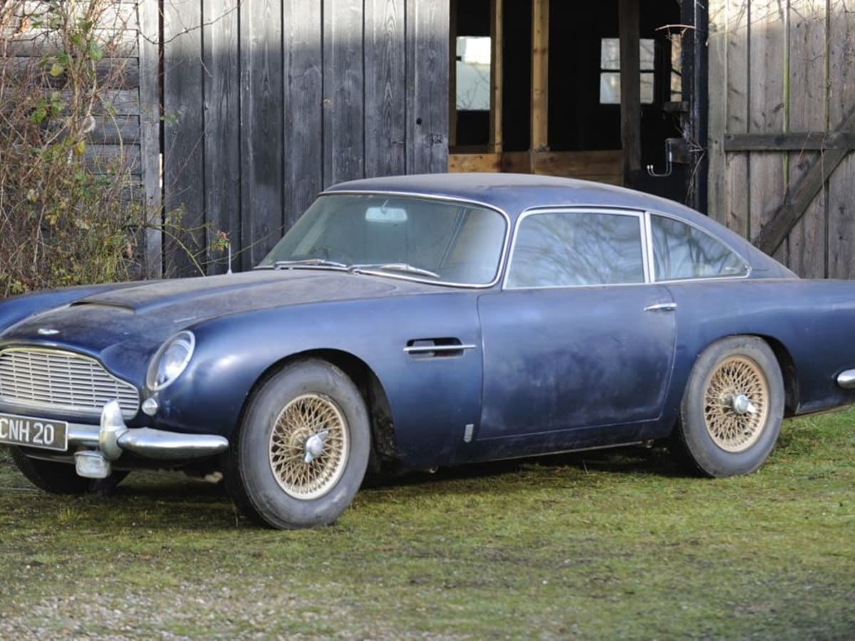 Aston Martin Db5 Barn Find Lost For 30 Years May Sell For 300 000 Caradvice