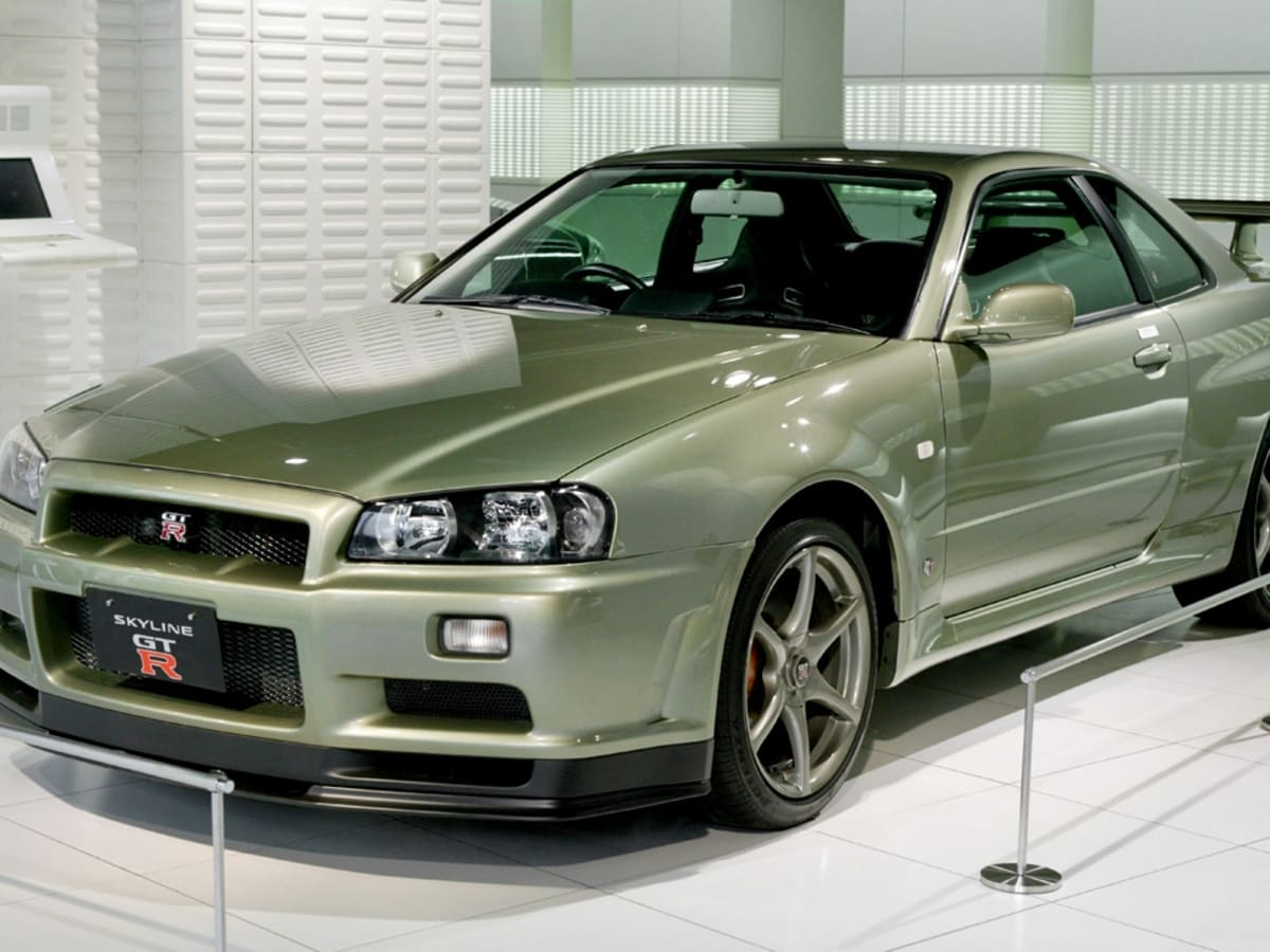 Rare Nissan R34 Skyline Gt R Fetches Record Sum At Auction Caradvice