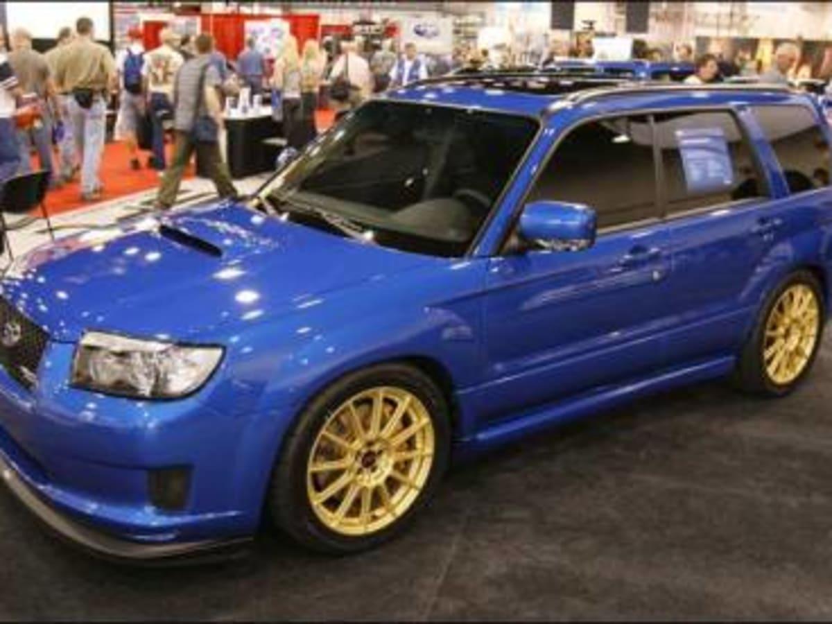 Subaru Forester Gt Sti Caradvice