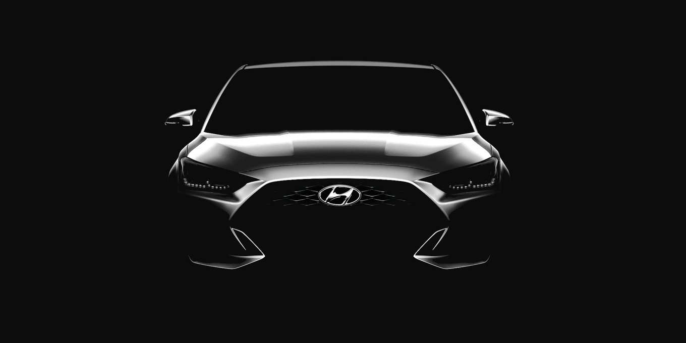 2018 - [Hyundai] Veloster II - Page 3 2018-hyundai-veloster-teaser-All-new-Veloster-Rendering-1