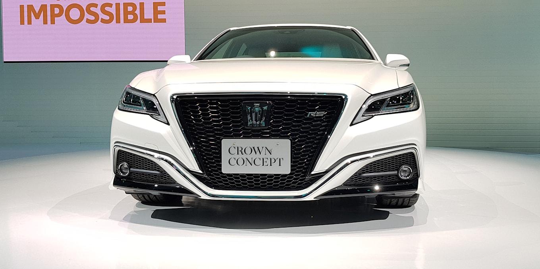 2017 - [Japon] Tokyo Motor Show Toyota-crown-concept-tokyo-20171025_085705