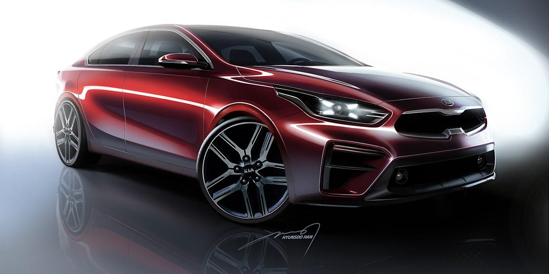 2019 - [Kia] Cerato / Forte / K3 2018-kia-cerato-sedan-detroit-1