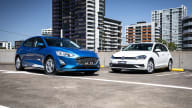 2019 Ford Focus v Volkswagen Golf comparison
