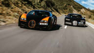 2021 Bugatti Chiron v 2015 Bugatti Veyron comparison